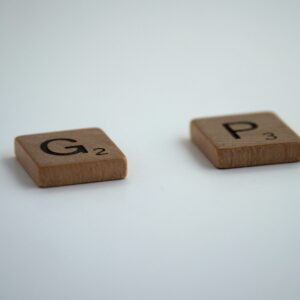 fixing career gap - image of scrabble pieces for the word gap